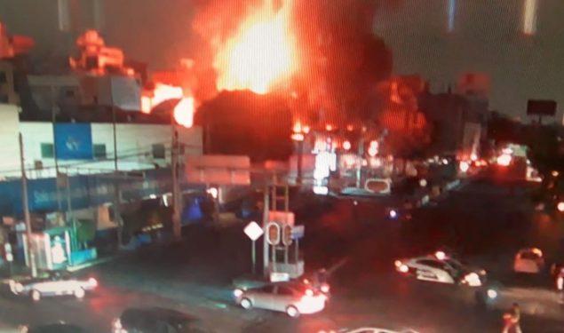 Se registra incendio en estación de CFE Coyoacán