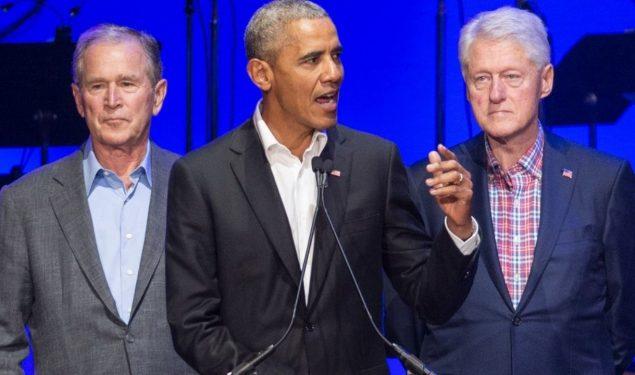 Tres ex  presidentes de EU listos para vacunarse públicamente contra covid