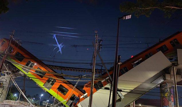 Colapsa línea 12 del Metro construida en gobierno de Ebrard, por Carso, de Slim